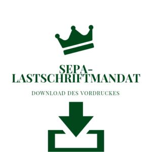 SEPA Lastschriftmandat Zulassungsstelle Rendsburg
