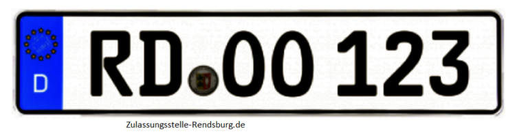Zulassungsstelle Hohenwestedt Rendsburg Wunschkennzeichen Rendsburg
